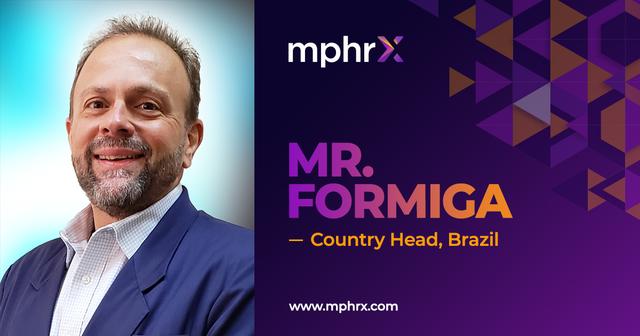 Joel Formiga Country Head Brazil   mphrx.com