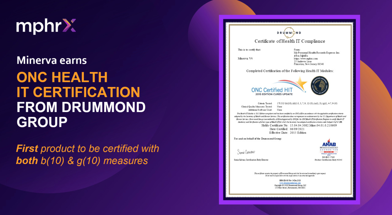 ONC Certification